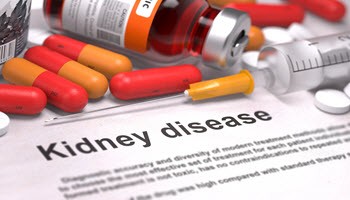 Kidney disease with pills